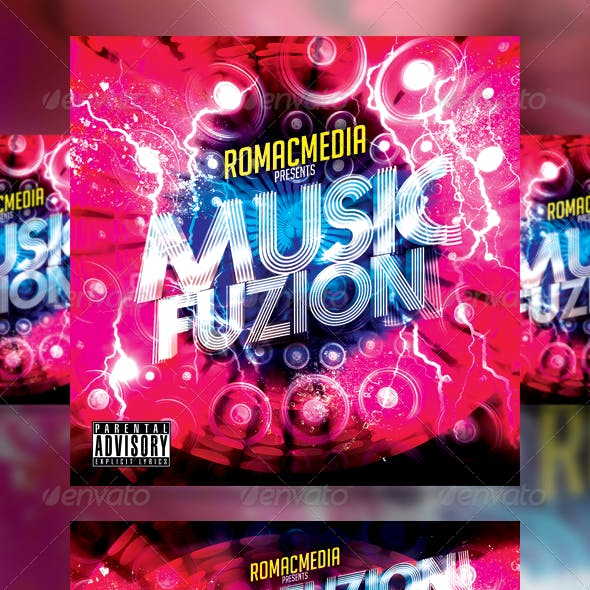 Music Fusion CD Cover