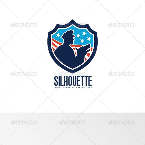 Silhouette Night Security Contractors Logo
