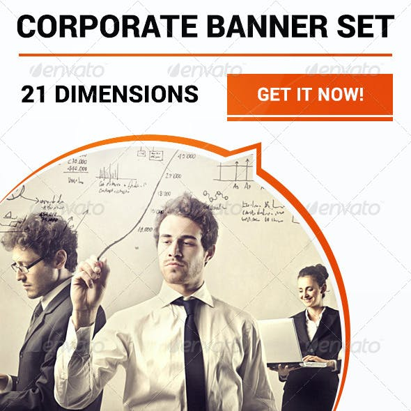 Corporate Banner Set