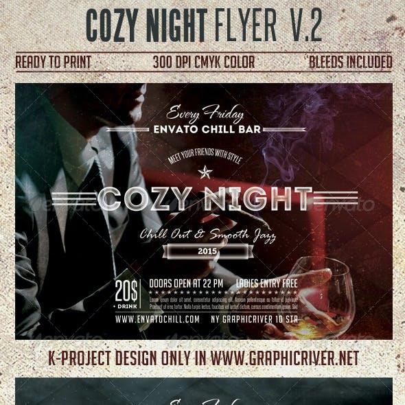 Cozy Night Flyer Vol.2