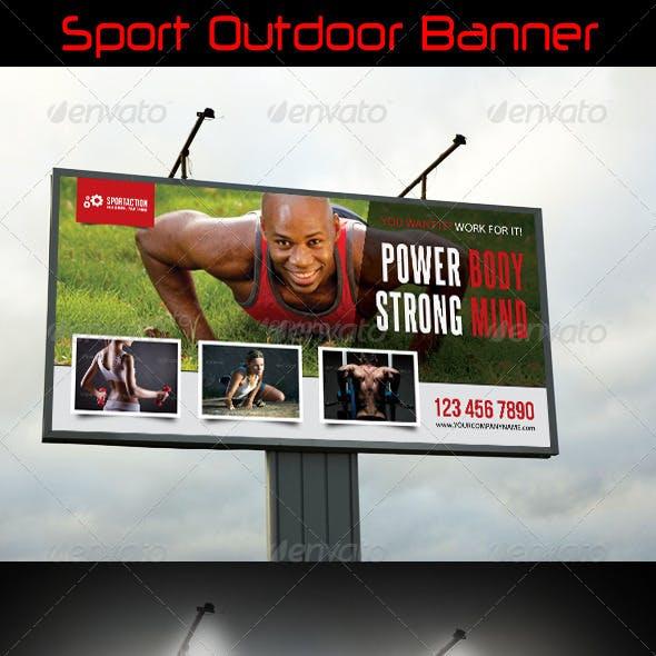 Sport Outdoor Banner 07
