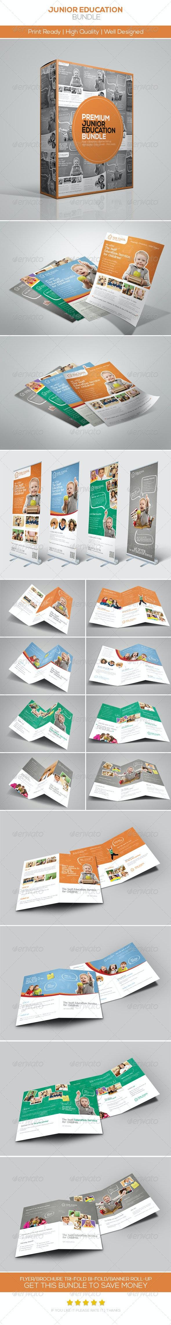 Premium Junior Education Bundle - Corporate Flyers