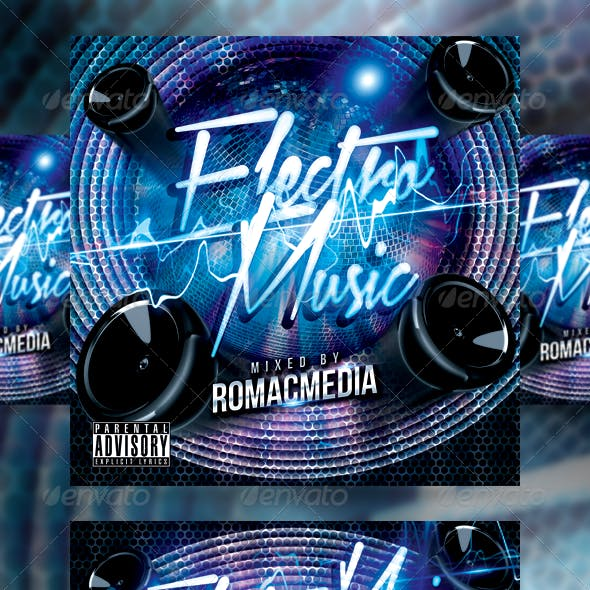 Electro Music CD Cover