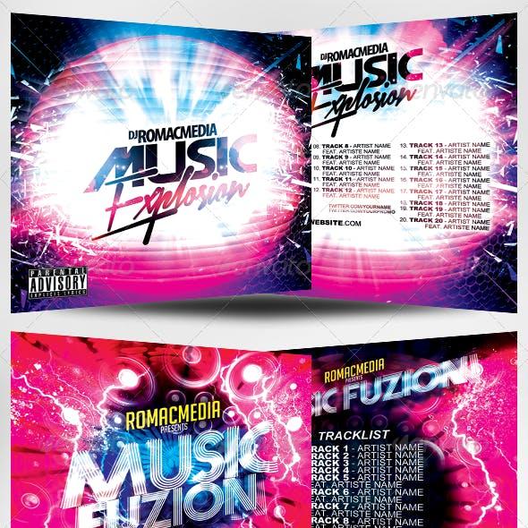Music CD Cover Mega Bundle 1