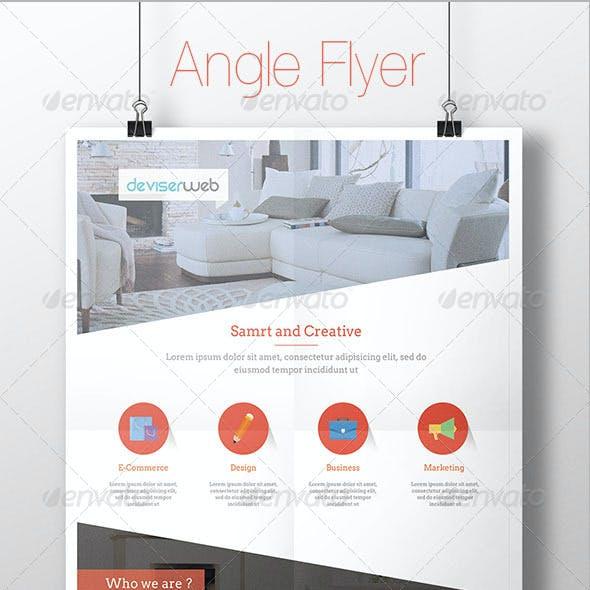 Angle Multipurpose Flyer Template