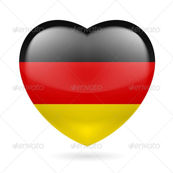 Heart Icon of Germany