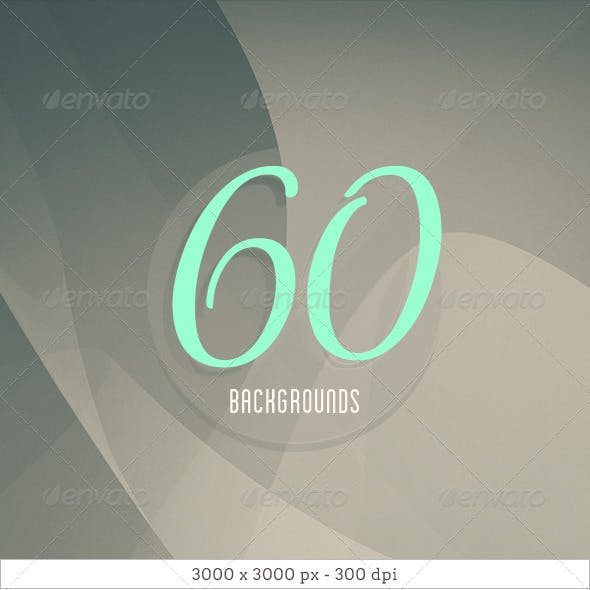 60 Abstract Curves Background