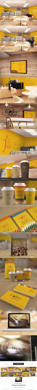 Coffee & Bakery Branding Mockups - Logo Product Mock-Ups