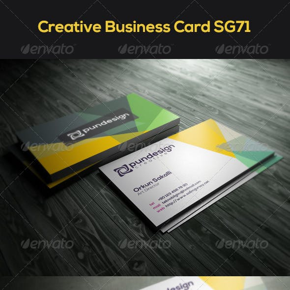 Creative Business Card SG71