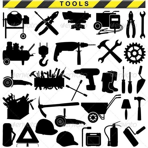 Vector Tool Pictograms