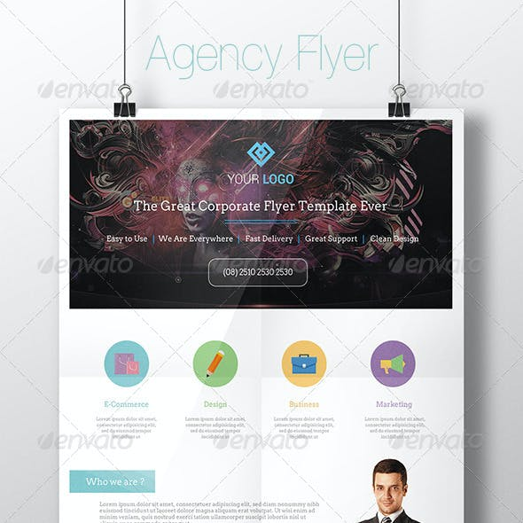Corporate Agency Flyer Template