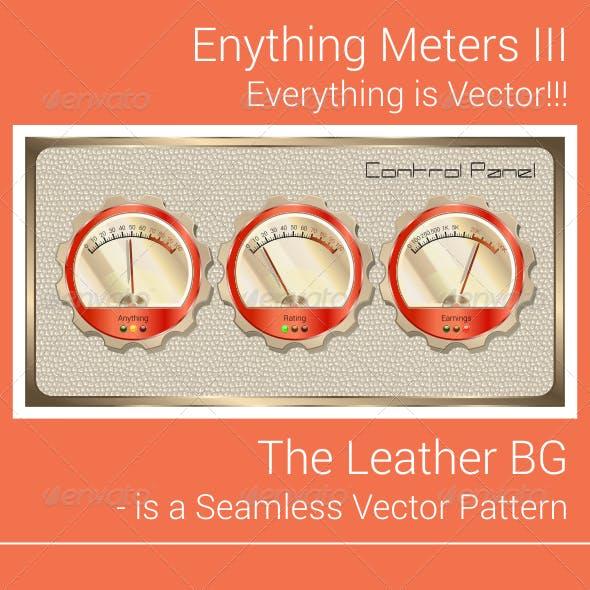 Vector Retro Any Meter Gauge