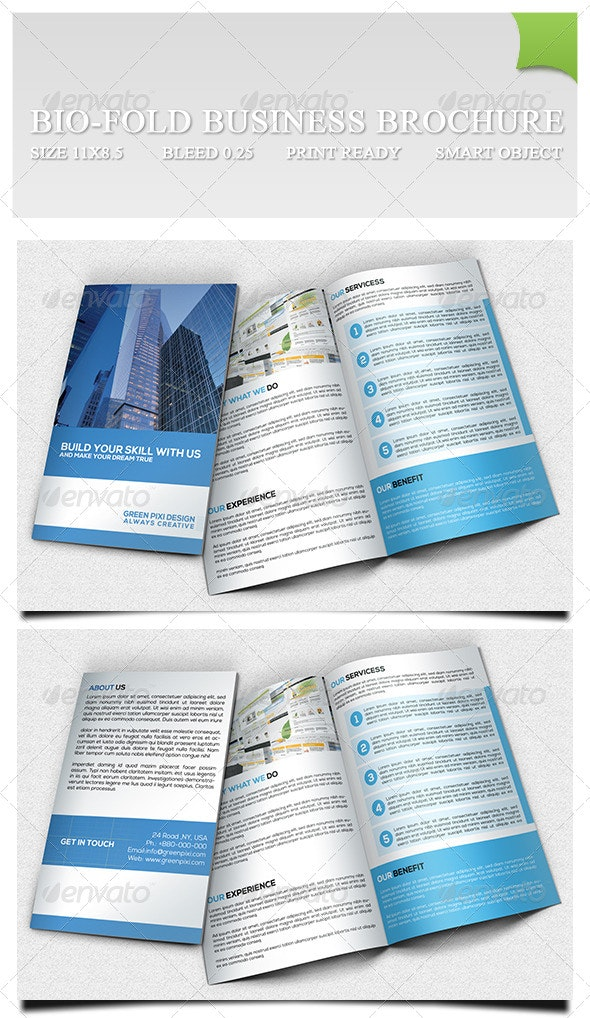 Bio-fold Business Brochure - Corporate Brochures