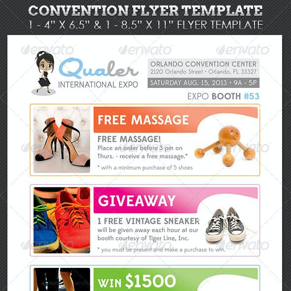 Convention Flyer Template