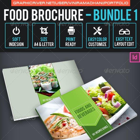 Food Brochure Bundle 1