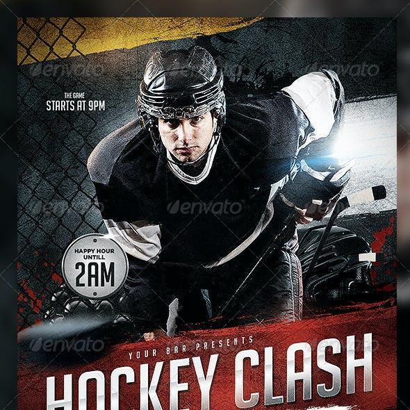 Hockey Clash Flyer Template