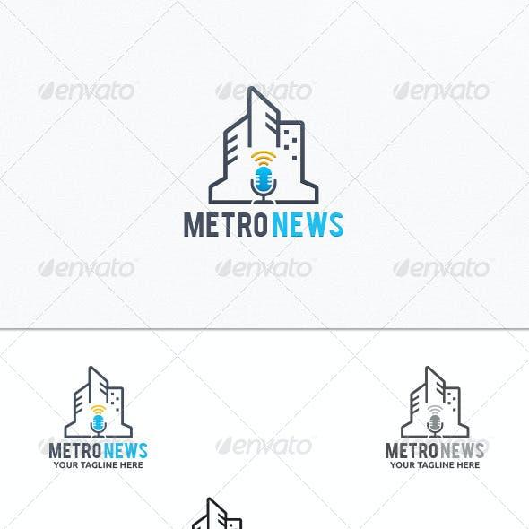 Metro News - Logo Template