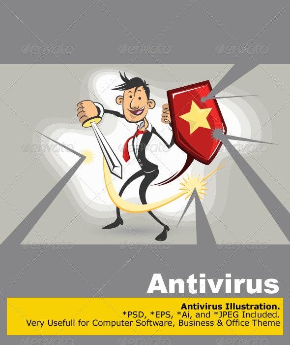 Antivirus Vs Virus  - Computers Technology