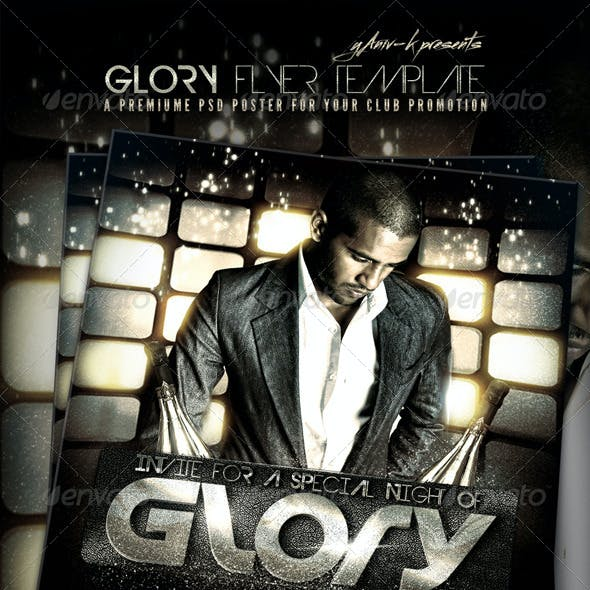 Glory Flyer Template