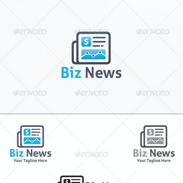 Business News - Logo Template