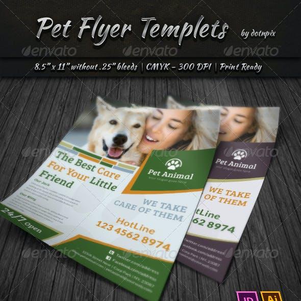 Pet Flyer Templets