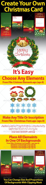 Christmas Elements To Decorate - Christmas Seasons/Holidays