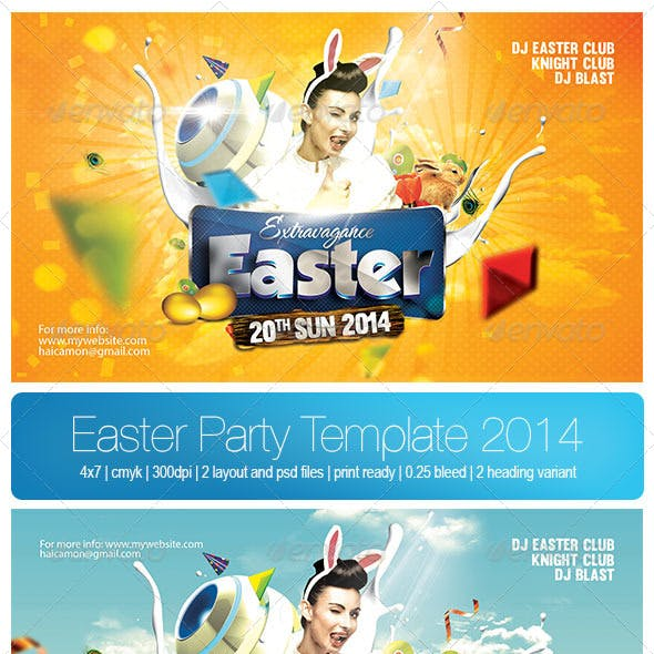 Easter Party Template 2014