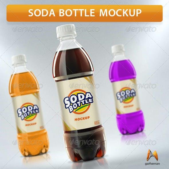 Soda Bottle Mockup