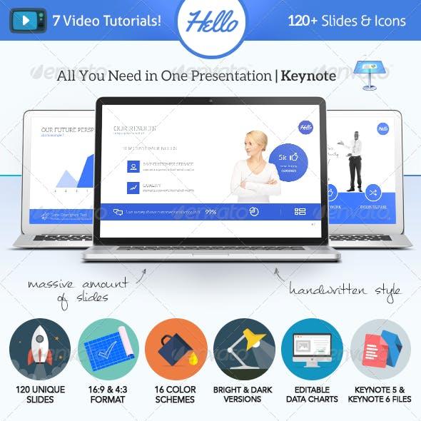 Hello Keynote - Multipurpose Presentation Template