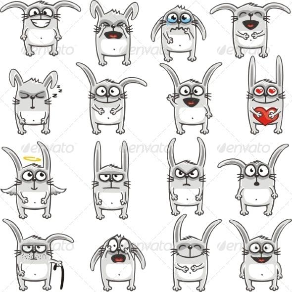 Smiley Rabbits