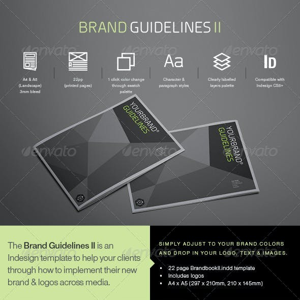 Brand Guidlines II Template