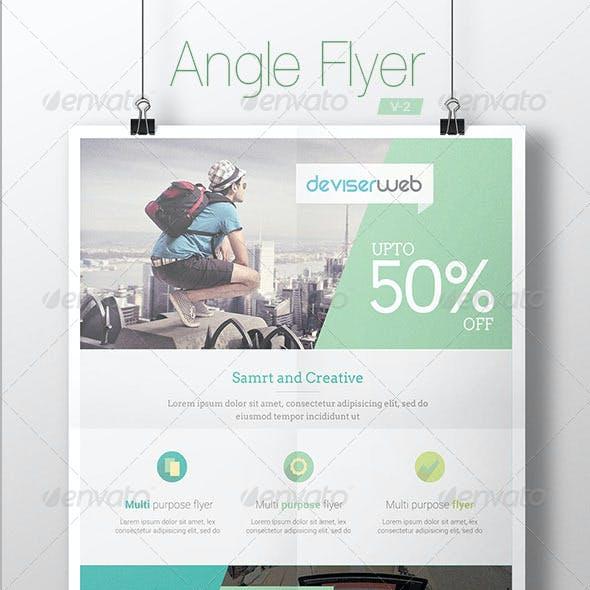 Angle Modern Flyer