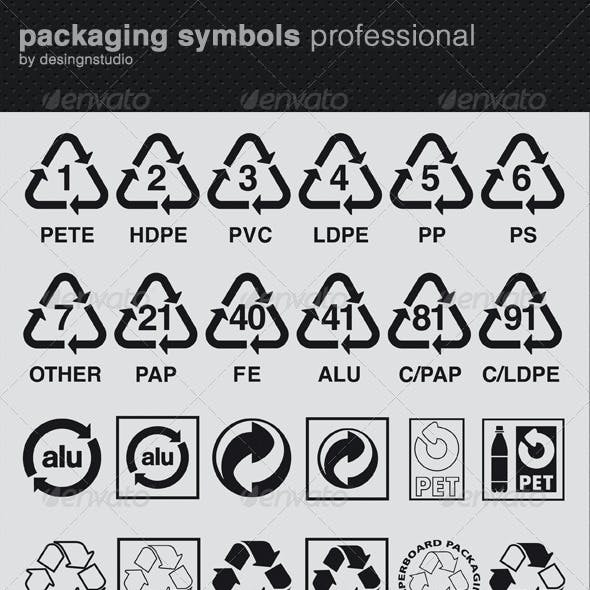 Packaging Symbols Professional