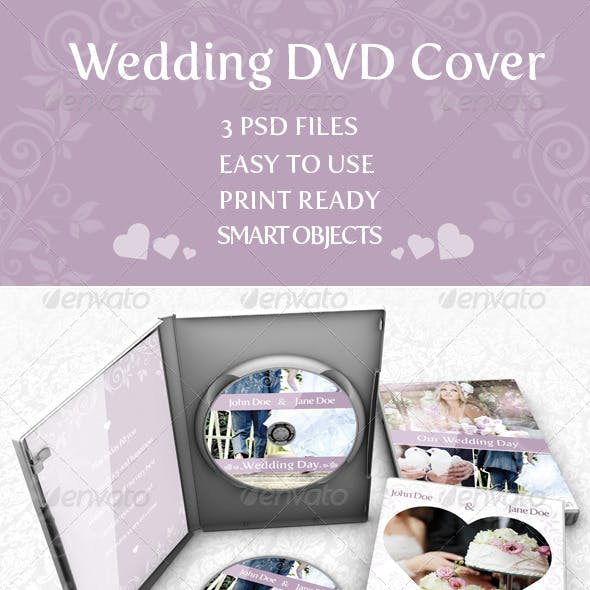 Wedding DVD Cover vol.1