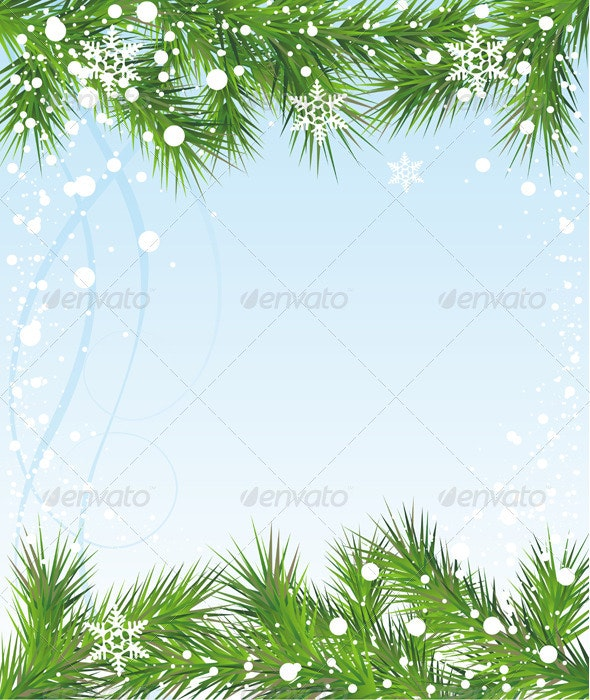 Christmas and New Year background - Christmas Seasons/Holidays