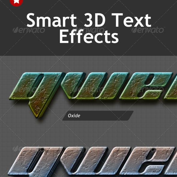 Smart 3D Text Effects