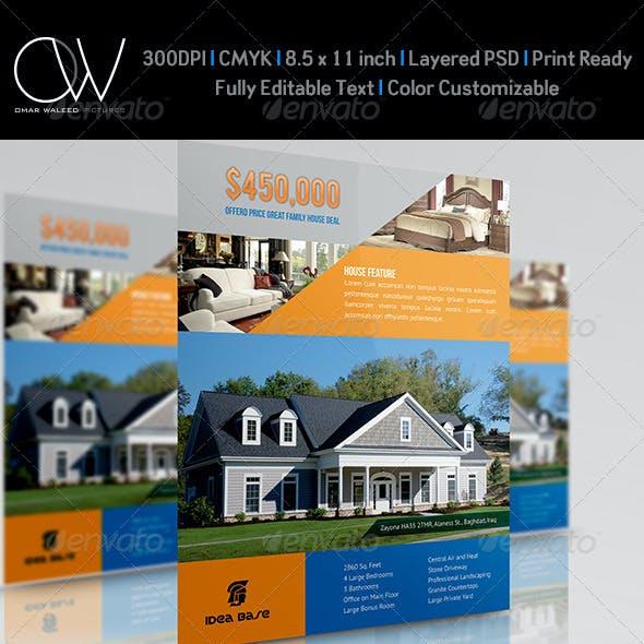 Real Estate Flyer Template Vol.10