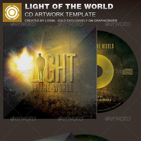 Light of the World CD Artwork Template