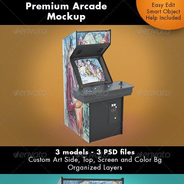 Arcade Game Mockup