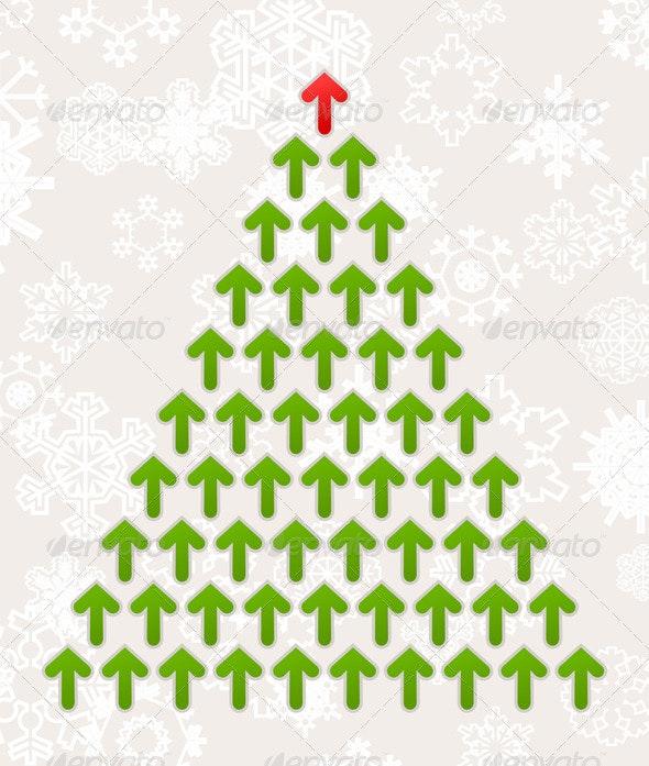 Celebratory tree5 - Christmas Seasons/Holidays