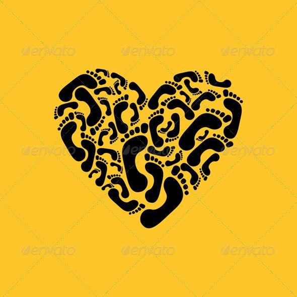 Heart a trace - Valentines Seasons/Holidays
