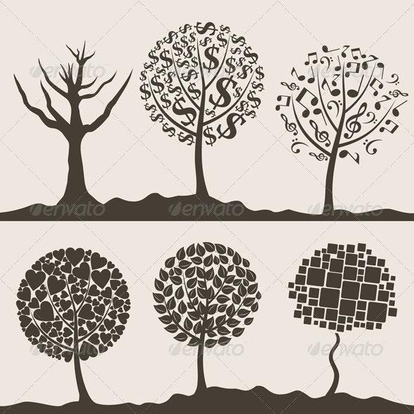 Wood tree3 - Flowers & Plants Nature