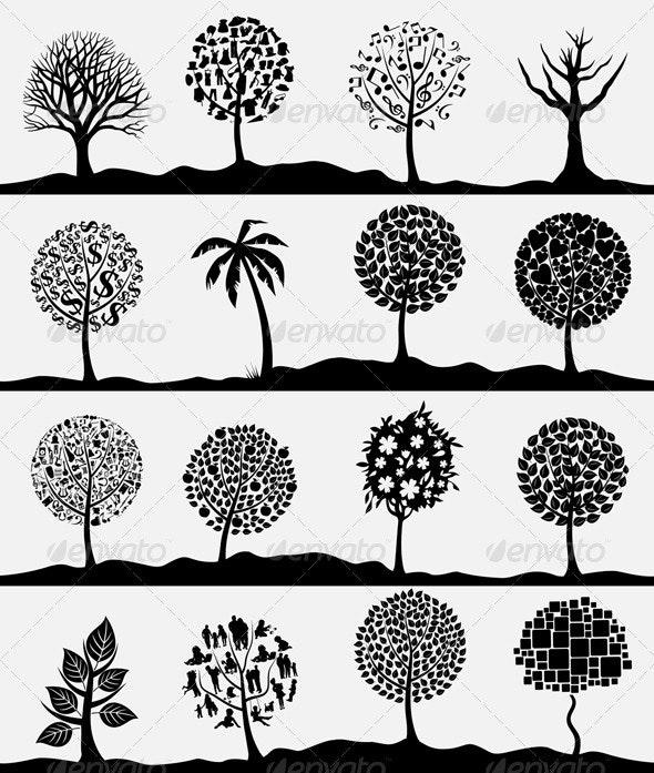 Wood tree4 - Flowers & Plants Nature