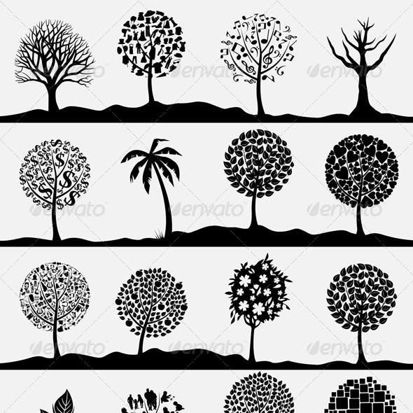 Wood tree4