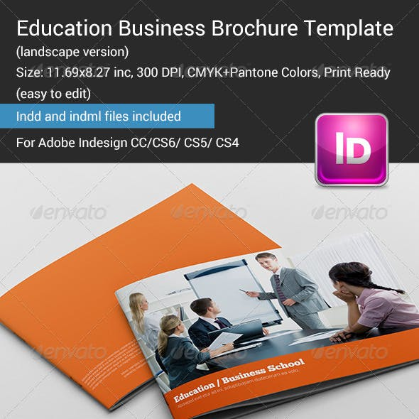 Education Business Brochure Template