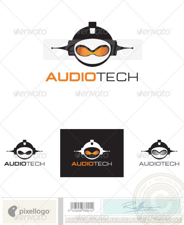 Music Logo - 2399 - Humans Logo Templates