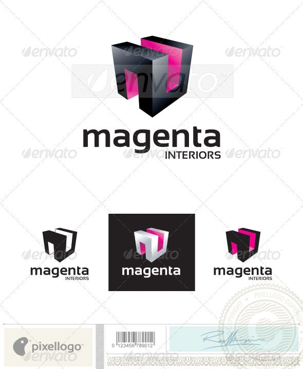 Architecture Logo - 2408 - Vector Abstract