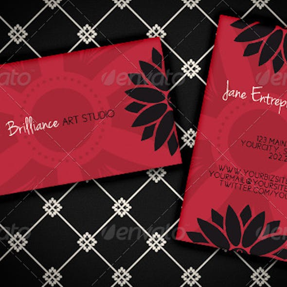 """Studio Brilliance"" Business Card"