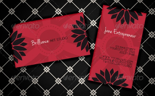 """Studio Brilliance"" Business Card - Creative Business Cards"