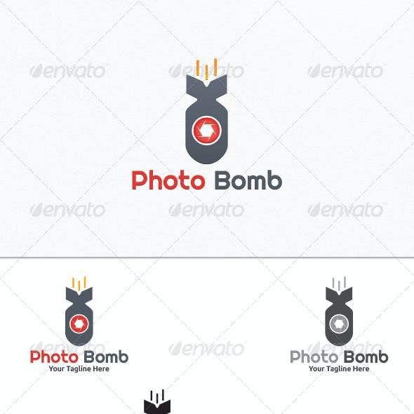 Photo Bomb - Logo Template